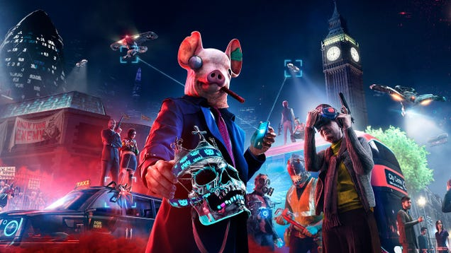 Watch Dogs: Legion Lets Anyone  Wear the Mask  to Its Own Detriment