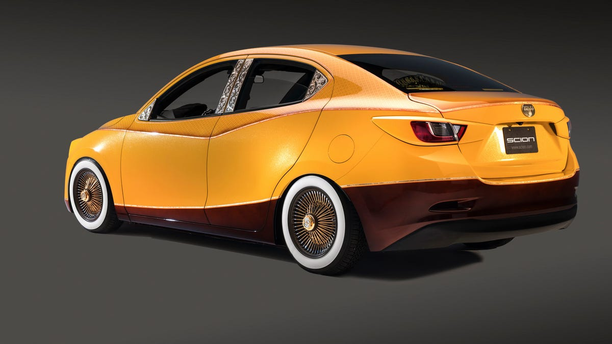 Scion Just Won SEMA Forever With This Ridiculous Lowrider
