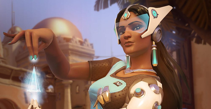 Illustration for article titled Overwatch Fans Are Swooning Over Symmetra's New Voice Lines