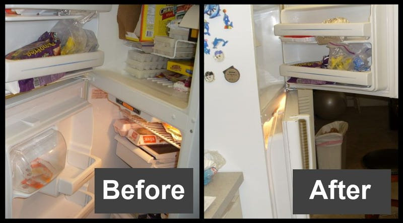 Illustration for article titled Change the Direction of Your Fridge Door for Easy Access
