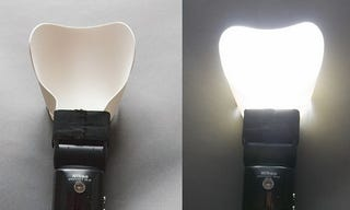 Illustration for article titled Make a Flexible and Effective Flash Diffuser from Craft Foam