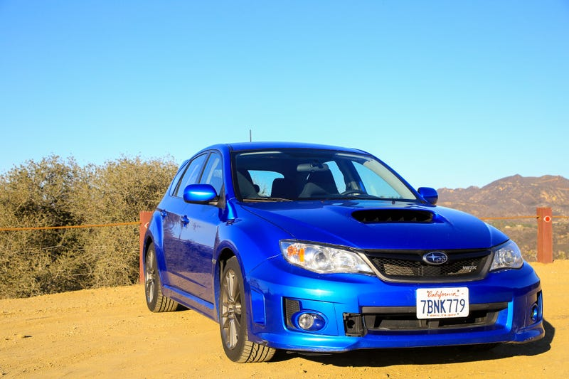 Illustration for article titled Review: 2013 Subaru Impreza WRX