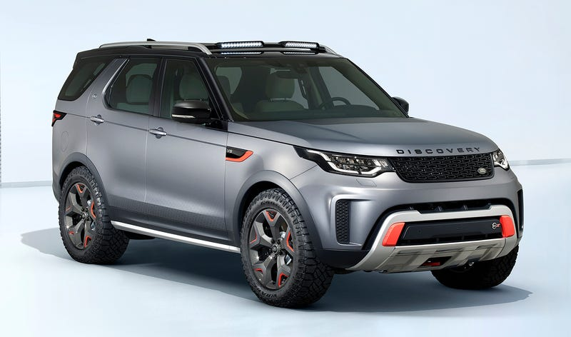 The 2018 Land Rover Discovery SVX Is Making Basic Ass SUVs Mean Again