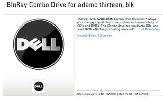 Illustration for article titled Rumor: Dell Adamo to Pack Blu-Ray and eSATA Peripherals