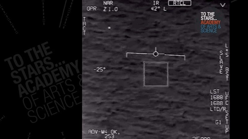 Aliens Are Still Probably Real And Here's Another UFO Video From The Navy To Prove It