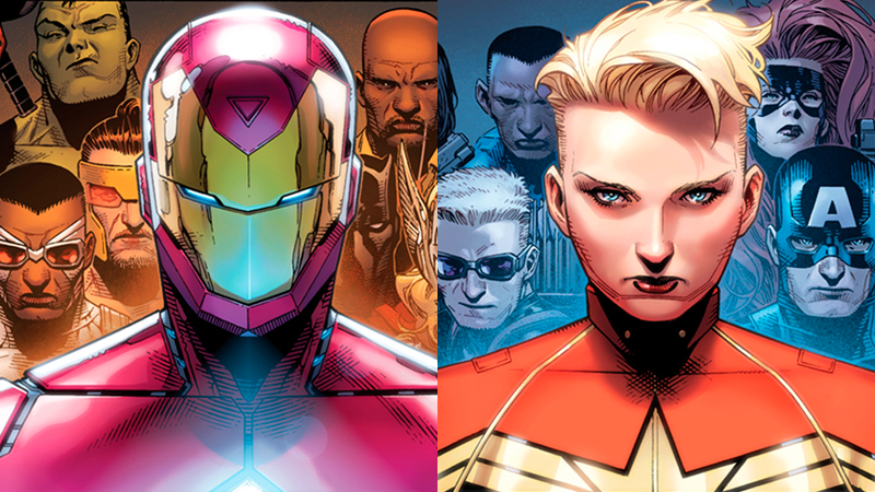 Illustration for article titled Here Are the Opposing Teams In Marvel's Civil War II Comics