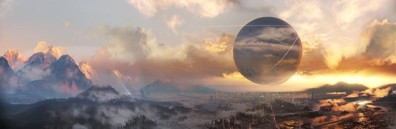 Illustration for article titled The Story Behind Destiny's Biggest Star: The Sky
