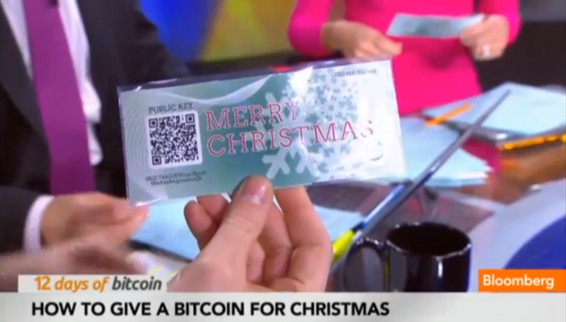 Illustration for article titled A TV Anchor Tries to Gift Bitcoin On Air, Is Immediately Robbed