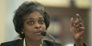 Mignon Clyburn testifying before Senate committee in March 2013 (T.J. Kirkpatrick/Getty Images)