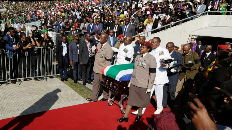 Illustration for article titled Winnie Madikizela-Mandela Is Laid to Rest