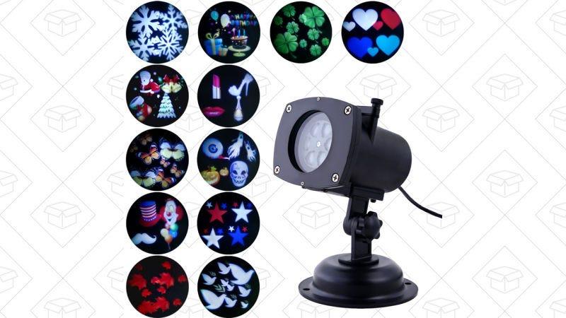 Proyector de luces OxyLED, $34 con el código T66LJKDY