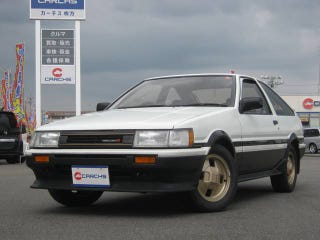 Illustration for article titled Goo-Net Gold: Possibly the last unmolested AE86