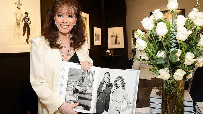 Illustration for article titled Jackie Collins Has 4 TiVos and Was a Leopard in a Past Life