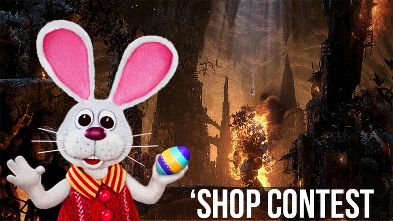 Illustration for article titled Kotaku 'Shop Contest: The Easter Bunny Goes To Hell