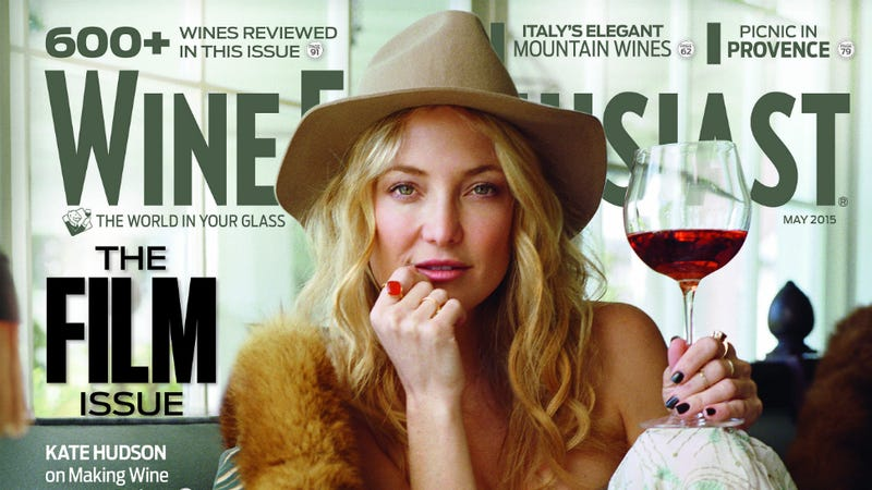 Illustration for article titled Kate Hudson's Newest Hobby: Making Rosé