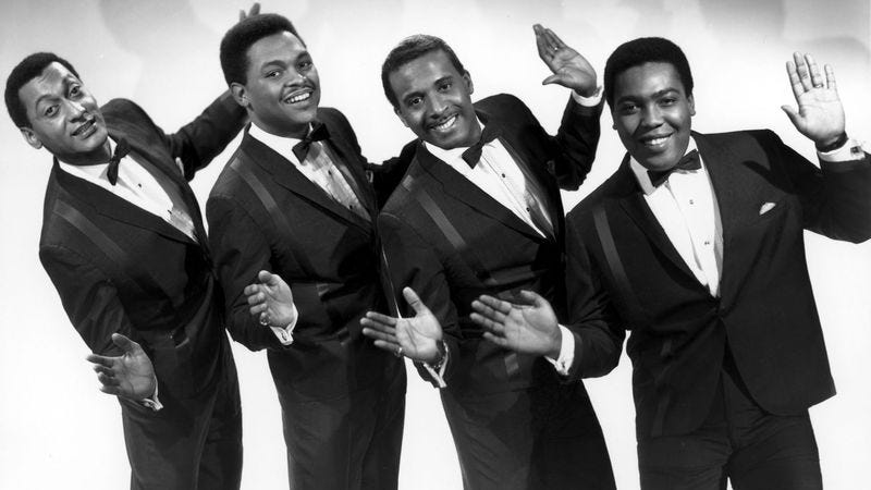 Illustration for article titled Parentheses, The Four Tops, and the seeds of pop geekery