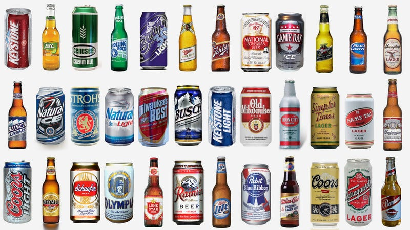 36 Cheap American Beers Ranked