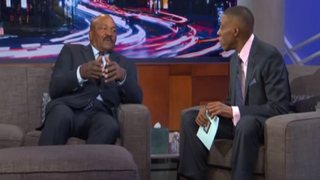 Jim Brown with Arsenio HallYouTube