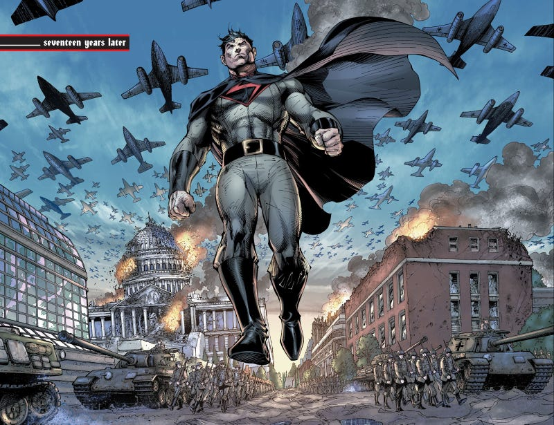 Image result for superman nazi