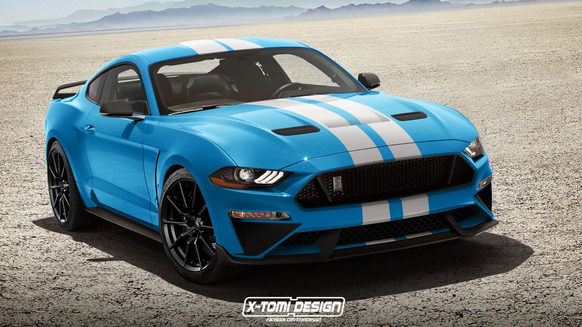 The 2018 mustang came in grabber blue