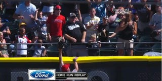Illustration for article titled A.J. Pierzynski's Home Run Hit A Toddler Because Two Adults Got Themselves Out Of Harm's Way