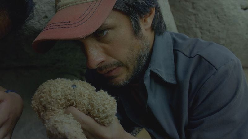 Illustration for article titled A child's toy nearly proves deadly in this exclusive clip from Desierto
