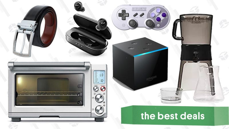 Illustration for article titled Thursday's Best Deals: Wireless Headphones, Fire TV Cube, Xbox E3 Sale, and More