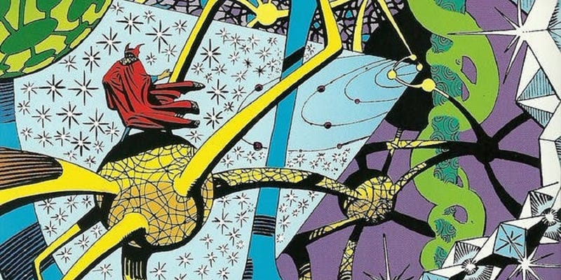 Illustration for article titled Doctor Strange was Fluff's pick of the pops