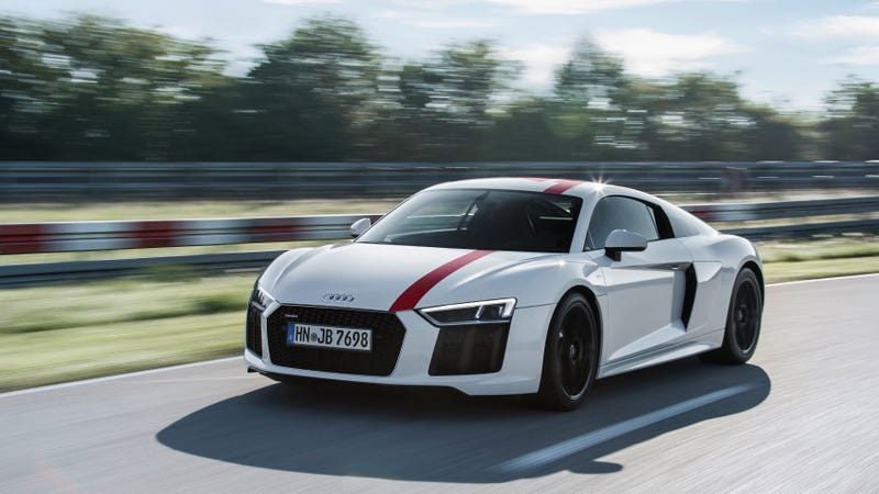 The Audi R8 V10 Rws Is The First Rear Wheel Drive R8