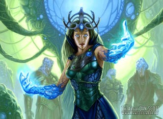 Illustration for article titled Magic the Gathering's Secret Sci-Fi History