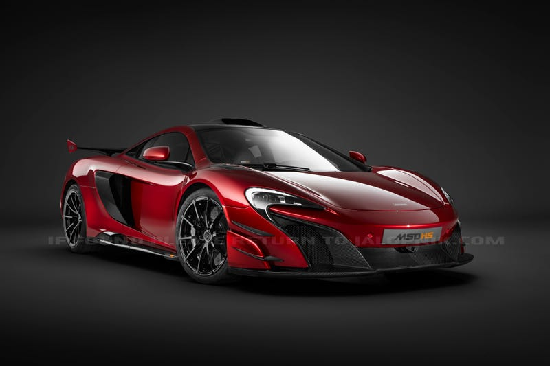 Illustration for article titled Here's The 678 Horsepower McLaren MSO HS Way Before You're Supposed To See It