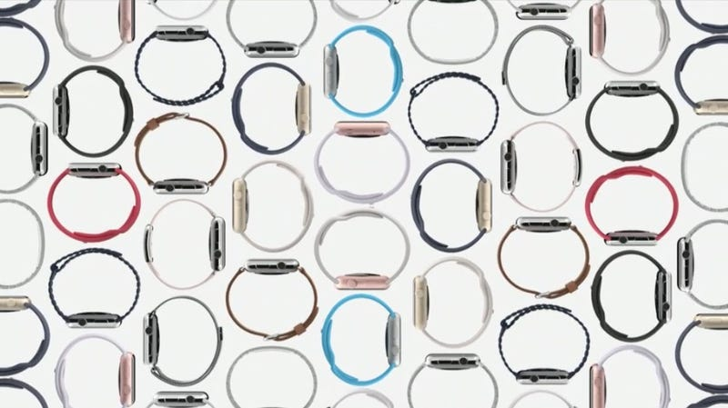 Illustration for article titled Apple Watch's OS Update Is Coming September 16