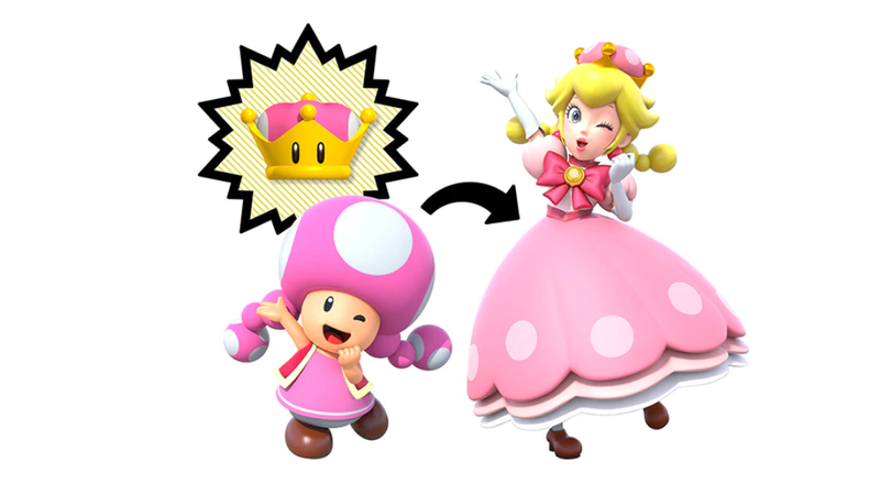Illustration for article titled But Seriously Who Is Peachette