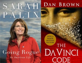 Illustration for article titled Sarah Palin Is The Next Dan Brown