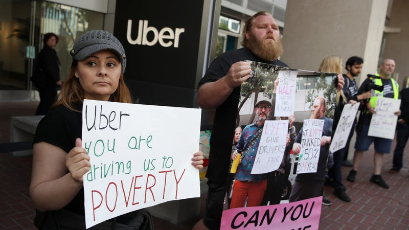 How Corporate Delusions Of Automation Fuel The Cruelty Of Uber And Lyft
