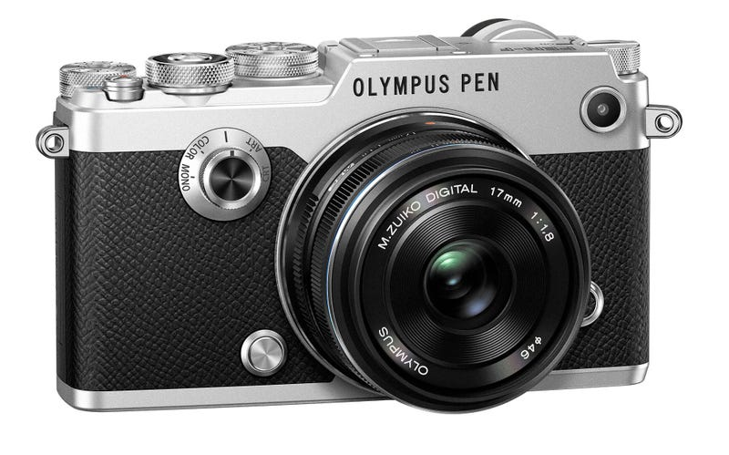 Illustration for article titled Olympus Pen-F Is the Artsiest Retro Camera Reboot Yet