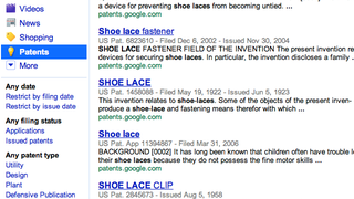 Illustration for article titled Patents Now Included in the Google Search Sidebar