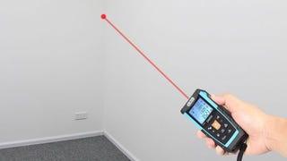 Medidor láser DM50 de Dr. Meter | $24 | Amazon | Usa el código KO57ZRKZ