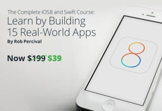 Illustration for article titled Get the Complete iOS8 & Swift Development Course for $39 (Save 80%)
