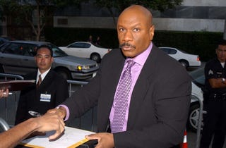 Ving Rhames during Undisputed Premiere by Miramax Films at Mann Festival Theater in Los Angeles, California, United States.