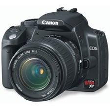 Illustration for article titled Dealzmodo: Canon  Digital Rebel XT w/ 28-90mm Lens, $430