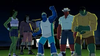 Illustration for article titled Cartoon Reality Show Hulk and the Agents of S.M.A.S.H. hits your TV