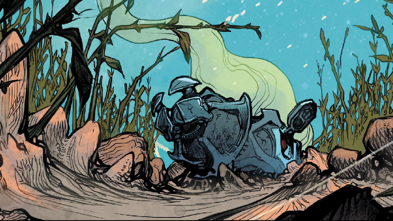 Image: DC Comics. Art by Howard Porter and Hi-Fi