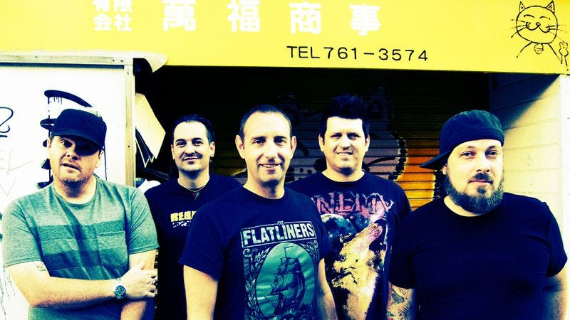 Illustration for article titled Here's the exclusive premiere of a new song off Less Than Jake's upcoming ninth album