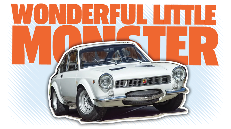 This Fantastic Little Abarth Had The Cleverest Spare Tire Placement Ever And Everything Else Is Great, Too