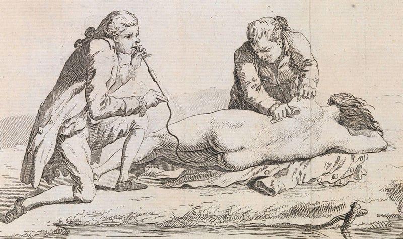 Si crees que fumar tabaco es asqueroso, espera a ver lo que hacían con él los médicos del siglo XVIII
