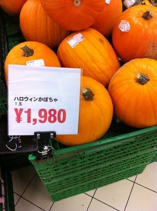 Illustration for article titled Is US$23 A Lot For A Pumpkin?
