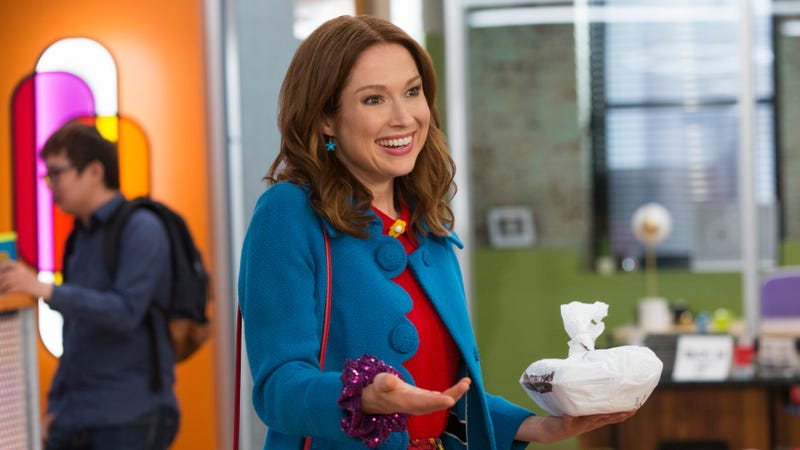 Ellie Kemper in Unbreakable Kimmy Schmidt