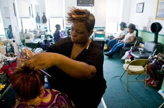 Illustration for article titled Will Black Salons Survive the Recession?