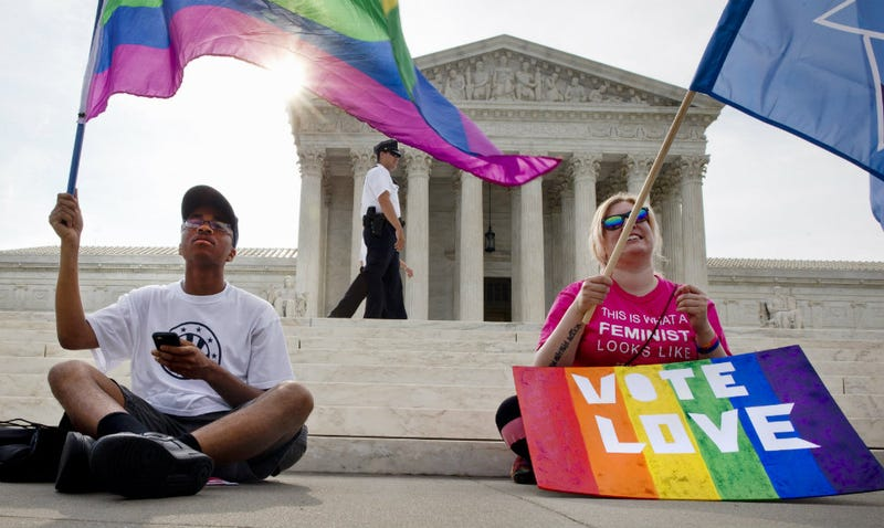 Illustration for article titled Fuck Yeah: SCOTUS Declares Gay Marriage Legal In All States